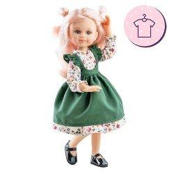 Ropa para muñecas Paola Reina 32 cm - Las Amigas - Vestido Cleo de flores