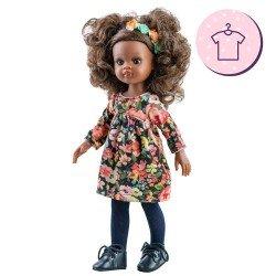 Ropa para muñecas Paola Reina 32 cm - Las Amigas - Vestido Nora de flores