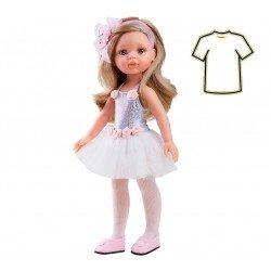 Ropa para muñecas Paola Reina 32 cm - Las Amigas - Vestido Carla bailarina