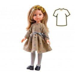 Ropa para muñecas Paola Reina 32 cm - Las Amigas - Vestido corazones Carla
