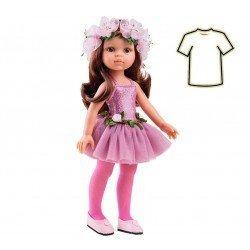Ropa para muñecas Paola Reina 32 cm - Las Amigas - Vestido Carol bailarina
