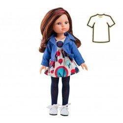 Ropa para muñecas Paola Reina 32 cm - Las Amigas - Vestido de árboles Carol