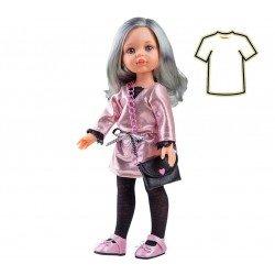 Ropa para muñecas Paola Reina 32 cm - Las Amigas - Vestido rosa brillante Carol