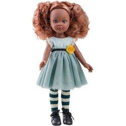 Muñeca Paola Reina 32 cm - Las Amigas Funky - Nora con vestido azul