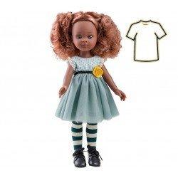 Ropa para muñecas Paola Reina 32 cm - Las Amigas - Vestido azul Nora