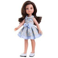 Muñeca Paola Reina 32 cm - Las Amigas - Carol con vestido de flores