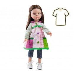 Ropa para muñecas Paola Reina 32 cm - Las Amigas - Vestido Carol profesora de infantil