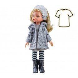 Ropa para muñecas Paola Reina 32 cm - Las Amigas - Conjunto de invierno Claudia