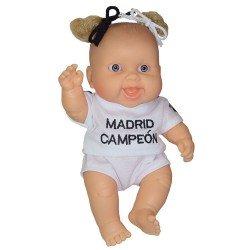 Muñeca Paola Reina 22 cm - Los Peques futbolistas - Niña Real Madrid