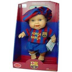 Muñeco Paola Reina 22 cm - Los Peques futbolistas - Niño Barcelona