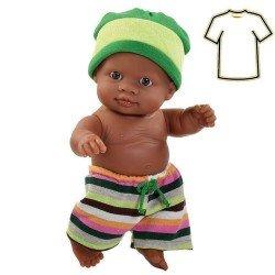 Ropa para muñecos Paola Reina 22 cm - Los Peques de Paola - Vestido Peque niño mulato