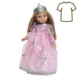 Vestido Carla princesa rosa