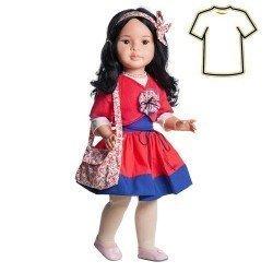 Ropa para muñecas Paola Reina 60 cm - Las Reinas - Vestido Mei