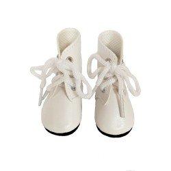 Complementos para muñecas Paola Reina 32 cm - Las Amigas - Botas blancas con cordones