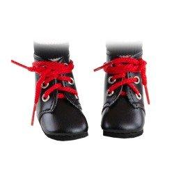 Complementos para muñecas Paola Reina 32 cm - Las Amigas - Botas negras con cordones