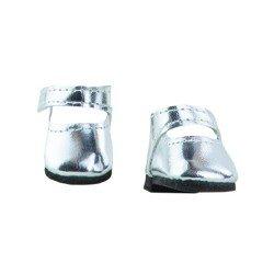 Complementos para muñecas Paola Reina 32 cm - Las Amigas - Zapatos plata