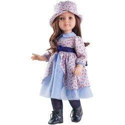 Muñeca Paola Reina 60 cm - Las Reinas - Lidia con vestido estampado de corazones