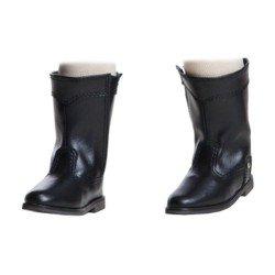 Complementos para muñecas Paola Reina 45 cm - Soy tú - Botas negras con velcro