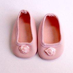 Zapatos rosas con flor - Soy tú
