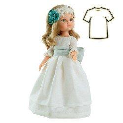Ropa para muñecas Paola Reina 32 cm - Las Amigas - Vestido Carla comunión