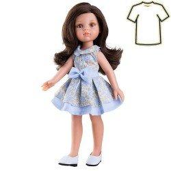 Ropa para muñecas Paola Reina 32 cm - Las Amigas - Vestido de flores de Carol