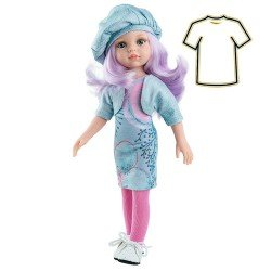 Ropa para muñecas Paola Reina 32 cm - Las Amigas - Vestido Karin estampado