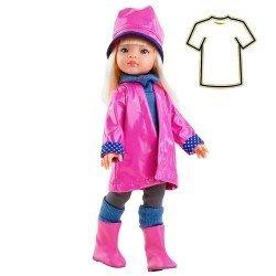 Ropa para muñecas Paola Reina 32 cm - Las Amigas - Vestido Manica chubasquero