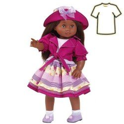Ropa para muñecas Paola Reina 45 cm - Soy Tú - Vestido mulata