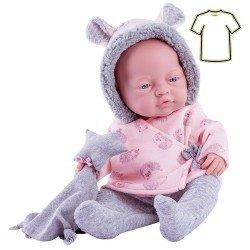 Ropa para muñecas Paola Reina 45 cm - Bebitos - Pijama con estrella doudou