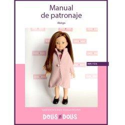 Patrón descargable Dolls And Dolls para muñecas Las Amigas - Abrigo