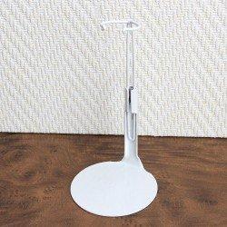 Peana metálica 1101 color blanco para muñecos tipo Madelman