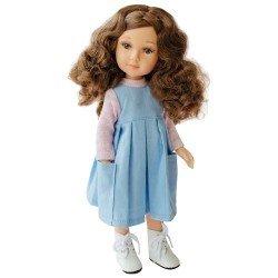 Muñeca Reina del Norte 32 cm - Margo con vestido azul