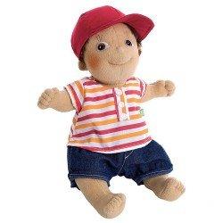 Muñeco Rubens Barn 36 cm - Rubens Kids - Tim con gorra