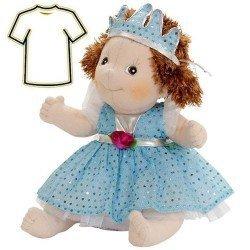 Ropa para muñecas Rubens Barn 38 a 40 cm - Conjunto Little Rubens y Cosmos - Blue Princess