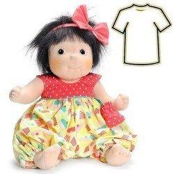 Ropa para muñecas Rubens Barn 38 a 40 cm - Little Rubens y Cosmos - Meiya