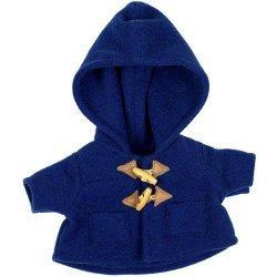 Ropa para muñecas Rubens Barn 36 cm - Ropa para Rubens Ark y Kids - Abrigo azul