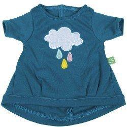 Ropa para muñecas Rubens Barn 36 cm - Ropa para Rubens Ark y Kids - Vestido nube