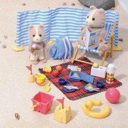 Sylvanian Families - Set día en la playa