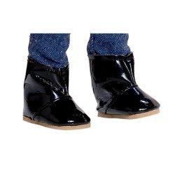 Complementos para muñecas Vestida de Azul 33 cm - Paulina - Botitas negras