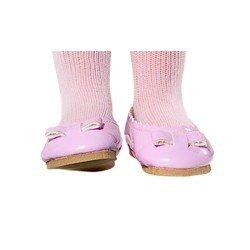 Complementos para muñecas Vestida de Azul 33 cm - Paulina - Merceditas rosa