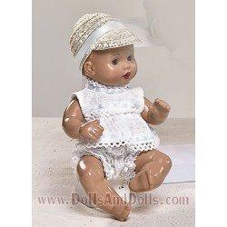 Muñeco Mini J.B. conj. cuadrillé blanco