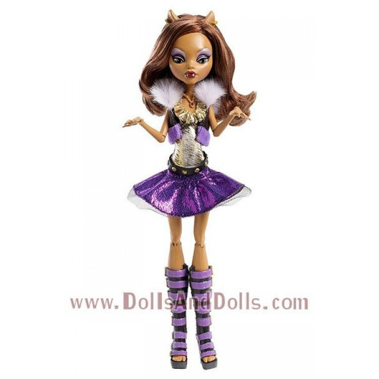 Monster High doll 27 cm - Clawdeen Wolf - Ghoul's Alive