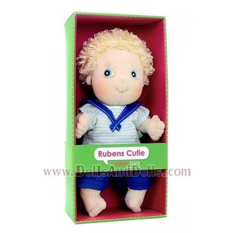 Rubens Barn doll 32 cm - Rubens Cutie - Adam