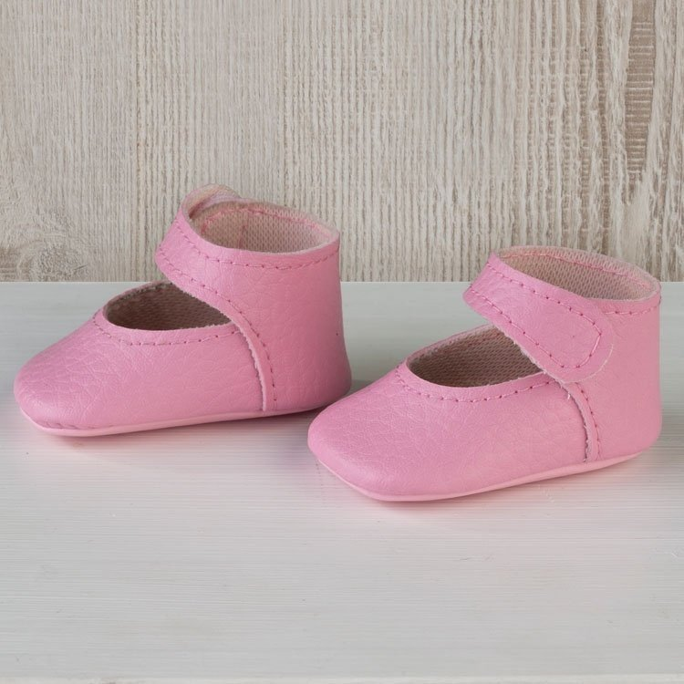 Así doll Complements 36 to 40 cm - Pink bootie shoes for Guille, Koke and Nelly doll