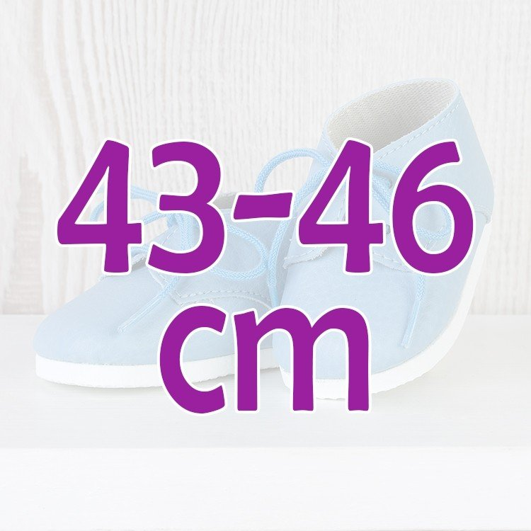 Así doll Complements 43 to 46 cm - Blue shoes for María, Pablo, Leo and Limited Series doll