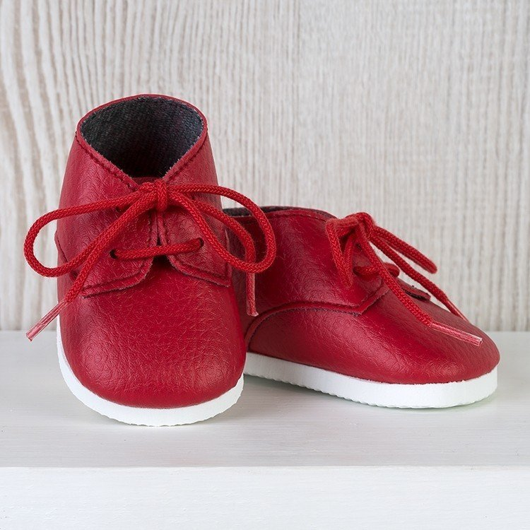 Así doll Complements 43 to 46 cm - Red shoes for María, Pablo, Leo and Limited Series doll