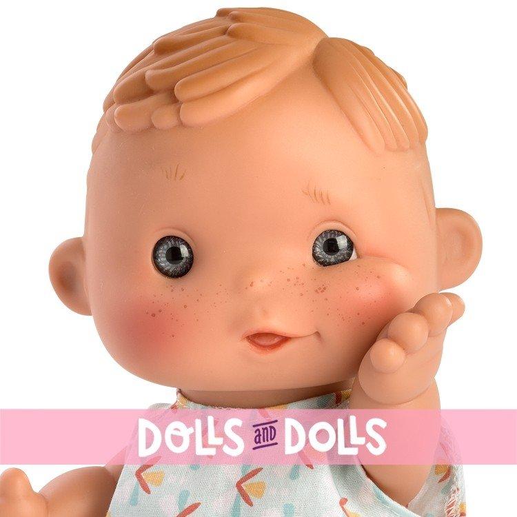 Así doll 23 cm - Dani with multicolor printed jumpsuit