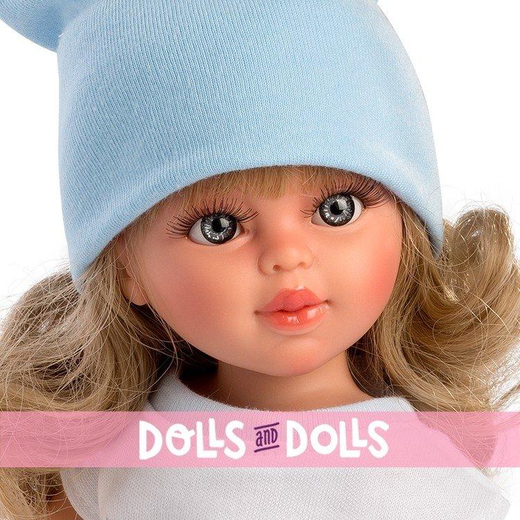 Así doll 40 cm - Sabrina with blue tulle skirt and butterfly shirt