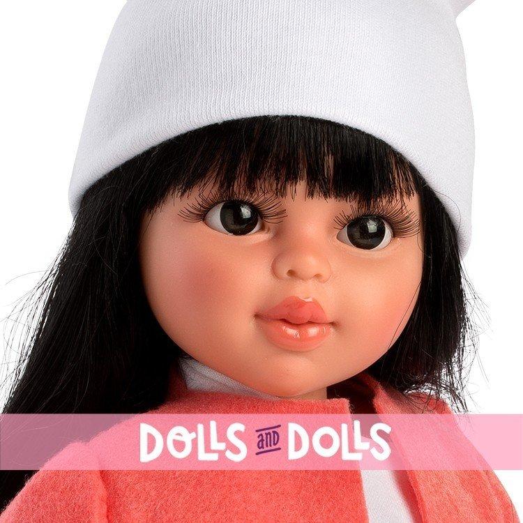 Así doll 40 cm - Sabrina with shorts and orange jacket