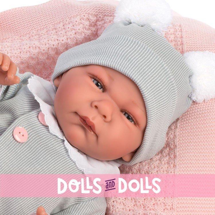 Así doll 46 cm - Raquel, limited series Reborn type doll